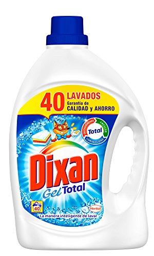 Foto de Dixan Gel Total Detergente para la Ropa - 2,48 l