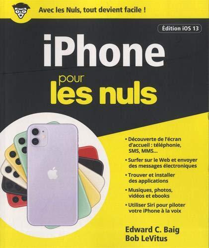 iPhone iOS 13 pour les Nuls par Edward C. BAIG