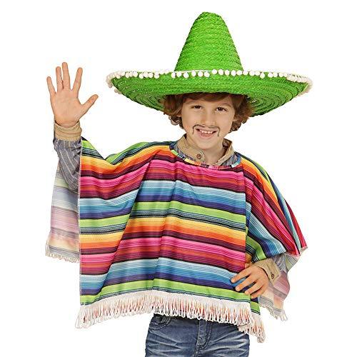 (Widmann 42935 Kinderkostüm Mexikaner, Unisex-Kinder, Mehrfarbig, Einheitsgröße)