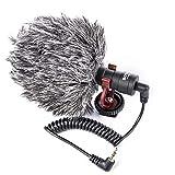 Proaim 40/cm Blimp per microfono shock mount mic sistema di sospensione con pelliccia copertura bmp-40r