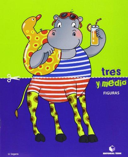 Tres y medio - Cuaderno de figuras - 9788430709779 por Lluis Josep Segarra Neira