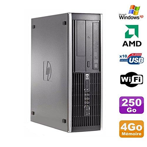 Hp PC Compaq 6005 Profi SFF AMD 3GHz 4gb DDR3 250gb SATA Gravierer Wifi Windows XP (Hp Desktop-computer Windows Xp)