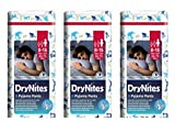 Huggies Drynites - Pantalones de pijama para niños de 8 a 15 años (3 unidades)