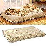 UNHO Soft Fleece Dog Bed Pet Cat Dog Mat Pad Cushion Washable Dog Warm Soft Cover
