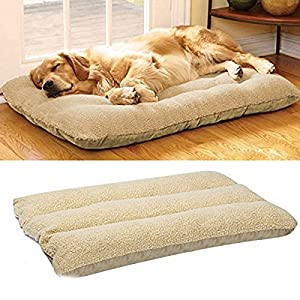 UNHO-Soft-Fleece-Dog-Bed-Pet-Cat-Dog-Mat-Pad-Cushion-Washable-Dog-Warm-Soft-Cover