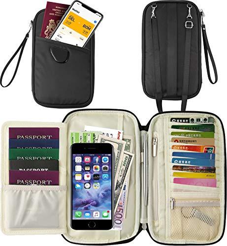 Travel Wallet Family Passport Ho...