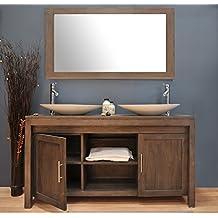 Amazonfr Meuble Teck Salle Bain - Meuble salle de bains en teck