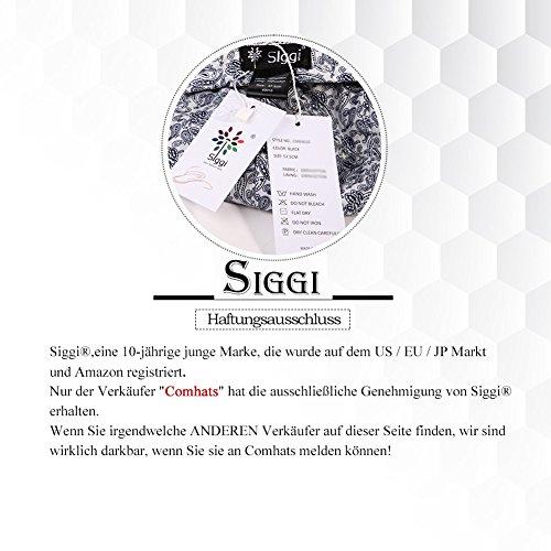 Siggi Femme Printemps Chapeau Melon Elégante Laine Casquette Vintage Béret Hiver Cloche 16076_Gris