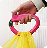 #8: Snazzynest Cool Multi-Functional Home Shopping Kitchen Grips Tool Grocery Bag One-Trip Grips Holder Handle Carrier with Self-locking Thumb