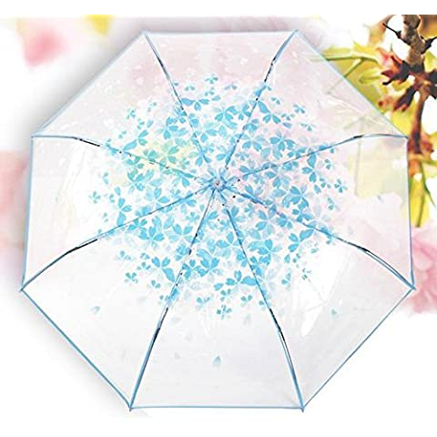 Ombrello trasparente ciliegia di 30 per cento