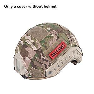 OneTigris Housse/Couvre-casque Camouflage Pour Casque FAST MH/PJ De La Taille M/L Ou L/XL