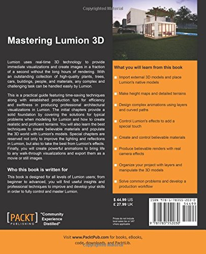 Mastering Lumion 3D