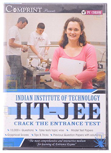 IIT-JEE ENTRANCE EXAM COMPRINT CD