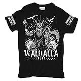 Männer und Herren Tshirt Odin Walhalla Ruft Größe S - 8XL