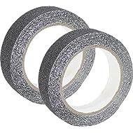 Anti Slip Tape For Safety Tape Strip 5m x 2.5cm in Black, black