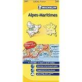 Alpes-Maritimes Michelin Local Map 341 (Michelin Local Maps)