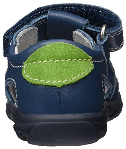 Richter Kinderschuhe Terrino, Chaussures Marche Bébé Garçon Blau (pacific/apple)