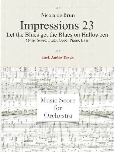 Impressions 23, Let the Blues get the Blues on Halloween (English Edition)