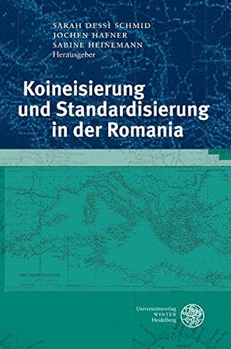 Hafner Studio (Koineisierung und Standardisierung in der Romania (Studia Romanica))