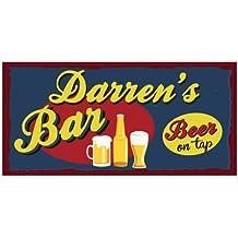 Boxer Darren Bar Signs