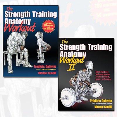 The Strength Training Anatomy Workout Collection 2 Books Bundle (The Strength Training Anatomy Workout,The Strength Training Anatomy Workout, Volume II: 2)