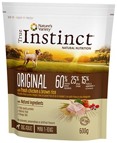 True Instinct Original - Mini Pienso para Perro Adulto con Cordero, 2 kg