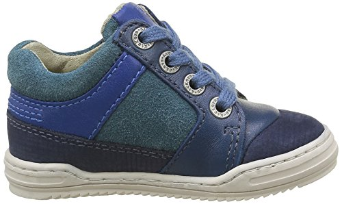 Kickers Jinjang, Chaussures Premiers Pas Bébé Garçon Bleu