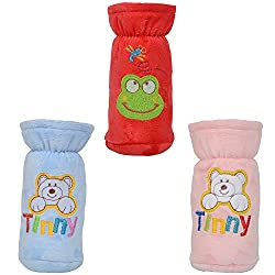 Tinny Tots Baby Bottle Cover - Pack Of 3