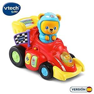 VTech- Bruno bólido Brum Vehículo Interactivo con Canciones Frases y melodías. (3480-528422)
