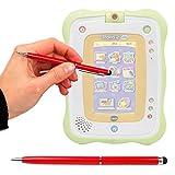 Duragadget Stylet Tactile Rouge 2 en 1 pour Tablette VTech Storio 2 Baby pour Enfant...
