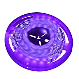 UV Tiras Led CORST 5m 16Ft 3528SMD Impermeable 300LED luz negra ultravioleta Night Light Fishing DC12V