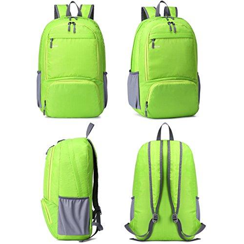 """mrplum 30l verpackt werden können als """"rucksack die haltbarsten licht für männer und frauen wandern tasche + camping - ausflug ist für outdoor - trave radfahren rucksack kleine tasche Green"""