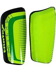 Wintex Poids Léger Vert Pvc Matériel Hockey Manche De Protection Cheville - 19 X 12 Cm