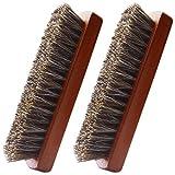 Cepillo para Limpieza Cepillo de Zapatos Juego de cepillos para Calzado cepillos de cerdas Naturales Pulido Limpiador para el Cepillo Kit para Zapatos Botas Abrigos Sofá Zapatillas Hogar