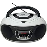 Grouptronics GTCD-501 Stereo BoomBox Portable CD Player Radio With USB, MP3 Player & AUX IN for Smartphone & Tablet