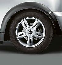 MINI Genuine Silver Hub Cap For 17 Crown Spoke R104 Alloy Wheels 36136771002