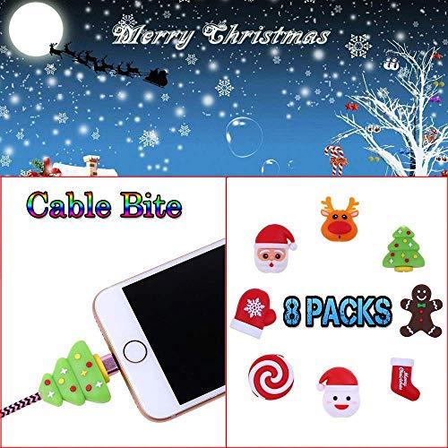 5/6/8 Stück Cute Ladekabel Protector Für iPhone Smartphone Kabel Cord Tier Ladegerät Kabel Zubehör Für Apple (8 Stck/einstellen-A) ()