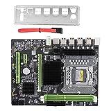 Scheda madre del computer desktop X58 Pro con socket LGA 1366, scheda madre SATA a 12 porte per RTL8111 NIC Gigabit, scheda madre di ricambio per E5502 L5506 W3503 EC3539 LC3528, supporto serie Xeon