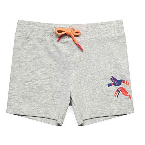 ESPRIT KIDS Mädchen Knit Shorts, Silber (Heather Silver 223), (Herstellergröße: 128+) - Silber Mädchen Shorts