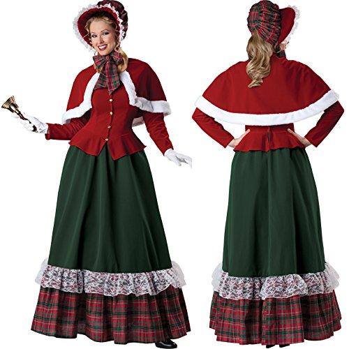 Damen Erwachsene–Partys und Partys–-Kostüm Zeit (Kostüm Renne Noel)