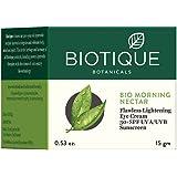 Biotique Bio Morning Nectar Flawless Lightening Eye Cream, 15 g