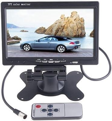 BW Color LCD Monitor del coche para