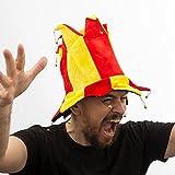 Genérico - Gorro bufón 14 puntas bandera españa