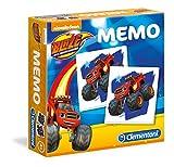 Clementoni 18010 - Memo - Blaze e le Mega Macchine