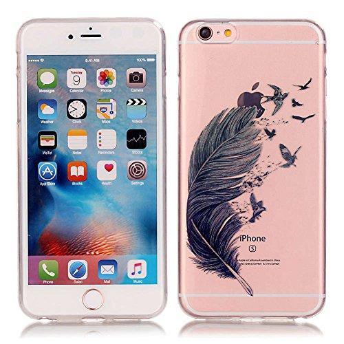 """iPhone 6S Plus /6 Plus Hülle, LANDEE Schutzhülle für iPhone 6S Plus / iPhone 6 Plus (5.5"""") Hülle TPU Case Silikon Crystal Clear Case (6SP-T-0212) 6SP-T-0201"""