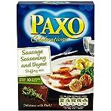 Paxo Carne De Salchicha Y La Celebración De Tomillo 150g De La Mezcla Para Relleno (Paquete de 6)