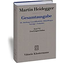 Gesamtausgabe. 4 Abteilungen / Zum Ereignis-Denken (Martin Heidegger Gesamtausgabe)