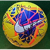 Pallone Serie A Autografato F.C. Juve Juventus 2019/2020 Firmata Firme Giocatori