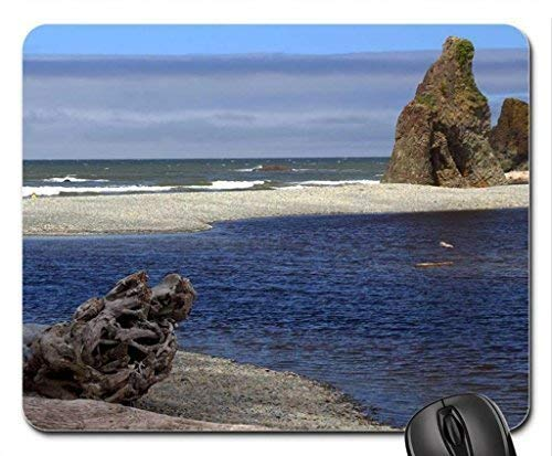 Ocean Inlet (Peaceful Ocean Inlet Mouse Pad, Mousepad (Beaches Mouse Pad))