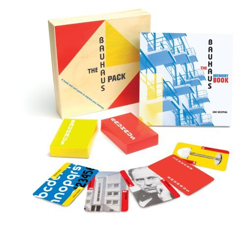 The Bauhaus Pack: A Book and Card Game to Improve Your Memory by Uwe Westphal (2007-03-26)